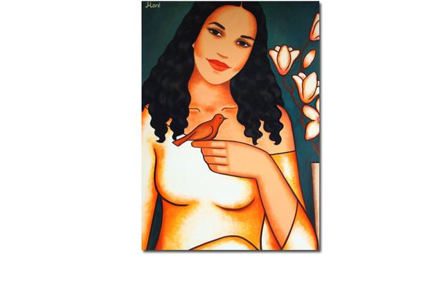 Gemälde Cassandra Steen