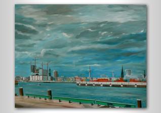 Gemälde Elbphilharmonie