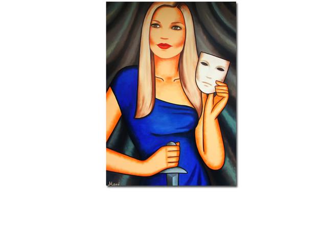 Gemälde Regina Halmich