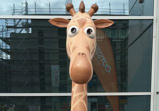 Giraffe Fantastic Four