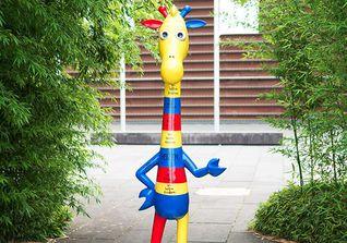 Giraffe Joyful