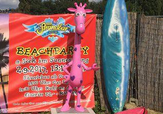 Giraffe Pink Sparkle