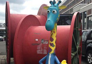 Giraffe Street Art