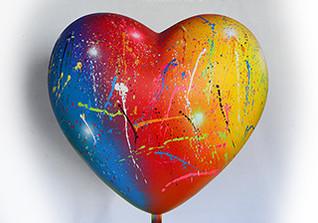 Girbigs Herz Skulptur