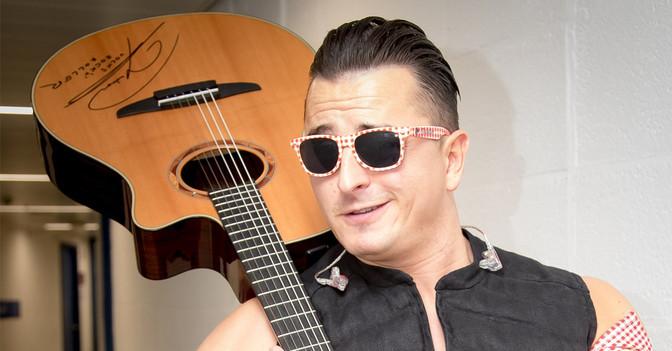 Gitarre Andreas Gabalier