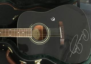 Gitarre Priscilla Presley