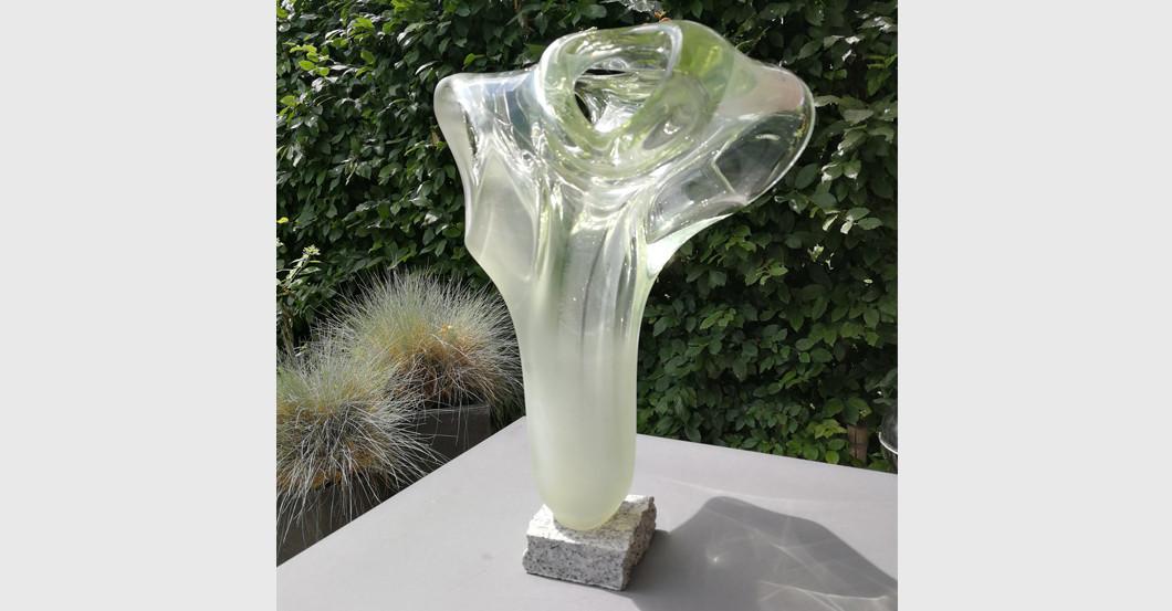 Glasskulptur Kiziński