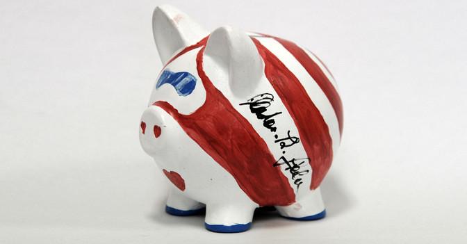 Glücksschwein Stecher