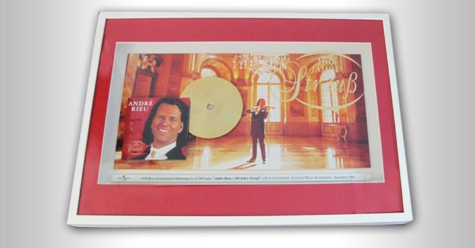 Gold Award Andre Rieu