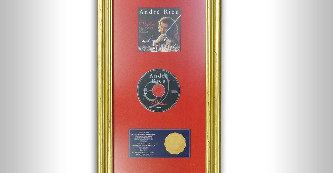 Gold Award Valses Rieu