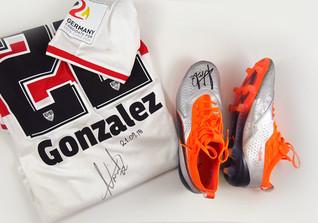 Gonzalez Trikot Schuhe
