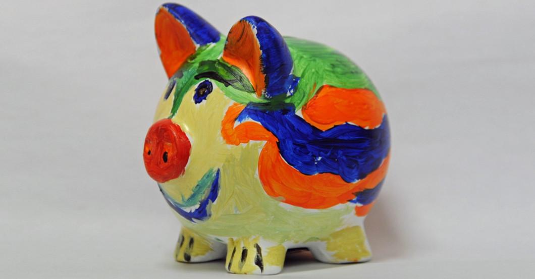Grubers Glücksschwein