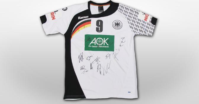 Handball Trikot signiert