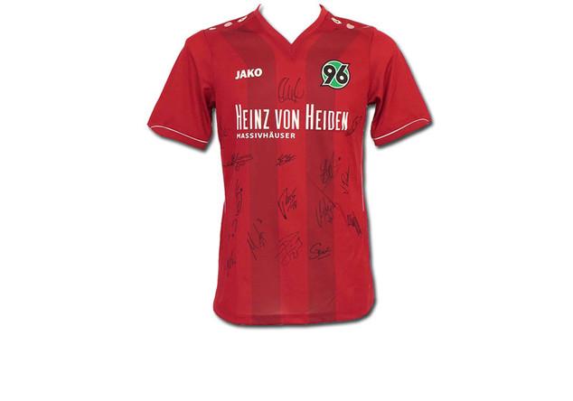 Hannover-Trikot Signiert