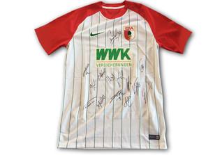 Heimtrikot FCA signiert