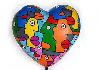 Herz von Thierry Noir
