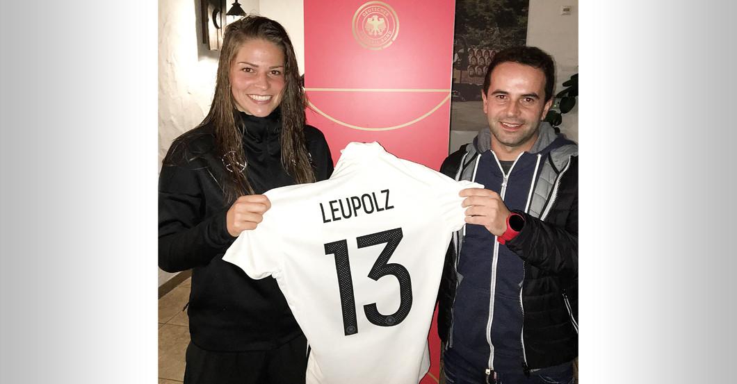 Jubiläumstrikot Leupolz