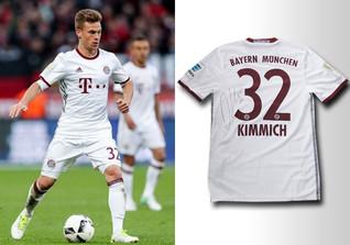 Kimmichs Bayern Trikot
