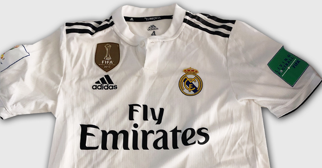 best service b9ed2 75d11 Toni Kroos's Worn Real Madrid Shirt from Club World Cup