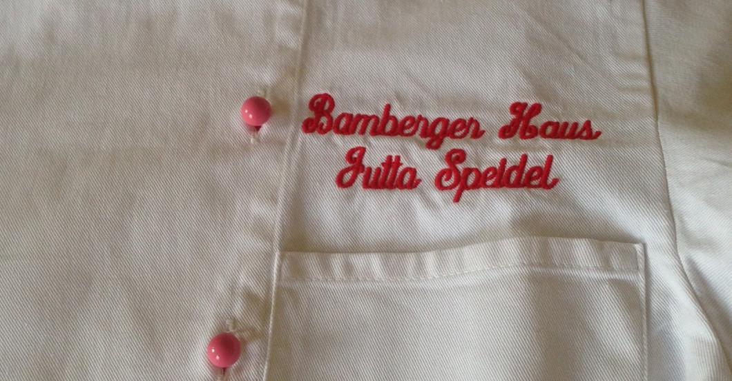 Kochjacke Jutta Speidel