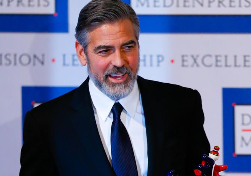 Der Deutsche Medienpreis geht an George Clooney