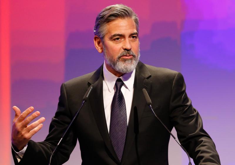 George Clooney beim Deutschen Medienpreis