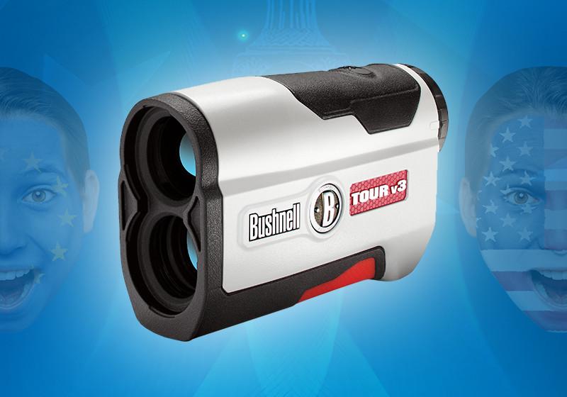 Für die golftasche: laser entfernungsmesser von bushnell