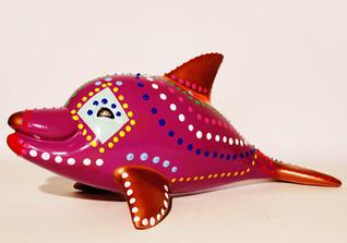 Leon Löwentraut Delfin
