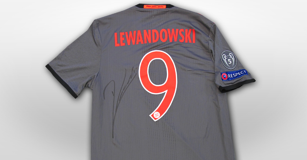 Lewandowski Spielertrikot