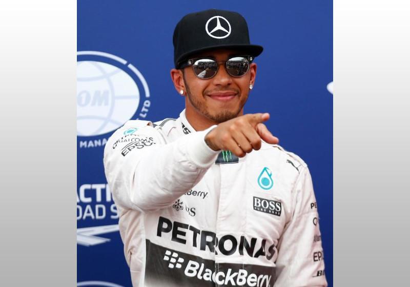 Lewis Hamilton treffen