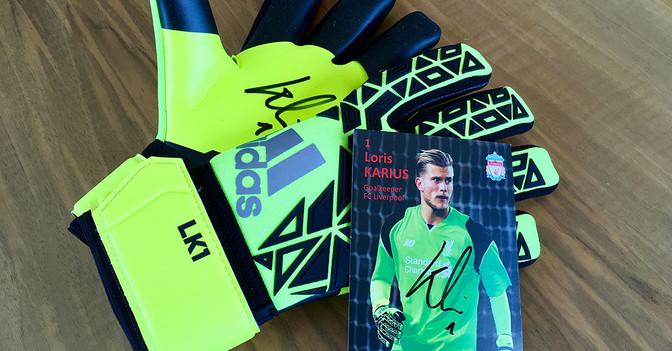 Loris Karius Handschuhe