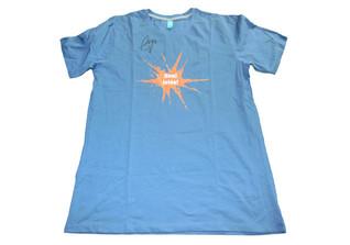M Bareks blaues Shirt