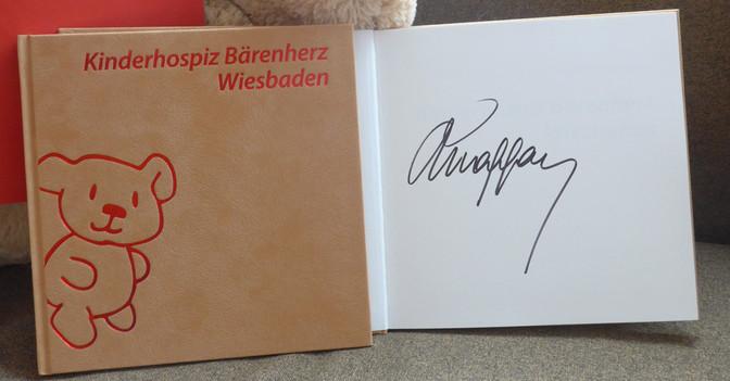 Maffay signiertes Buch