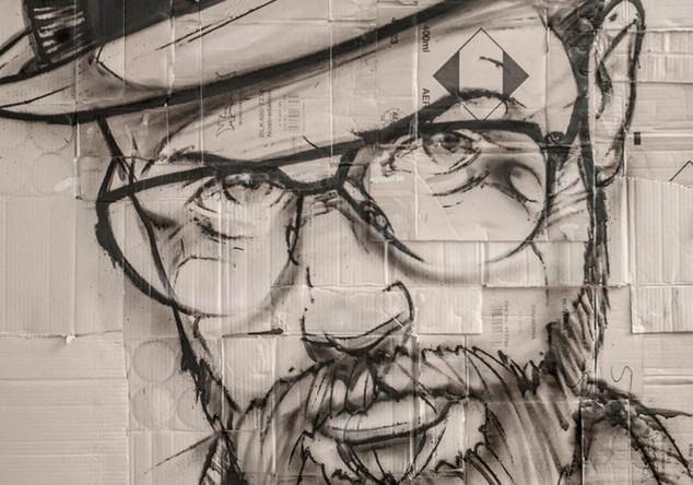 Mann mit Brille Hombre