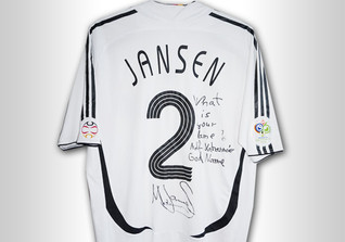Marcell Jansen WM Trikot