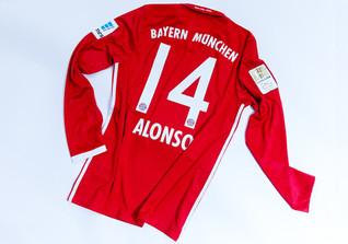 Matchworn Jersey Alonso