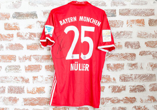 Matchworn Trikot Müller