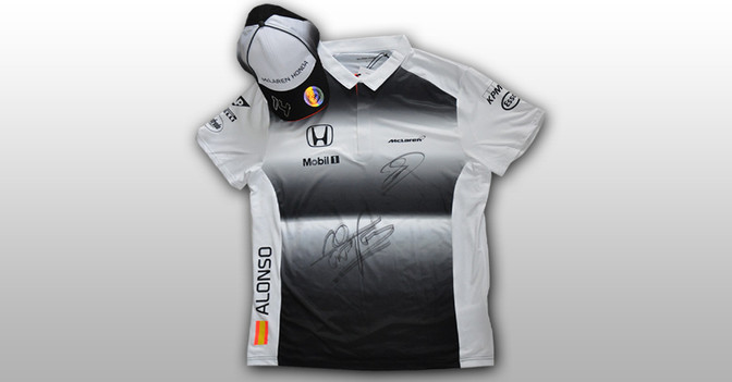 McLaren Polo-Shirt Cap
