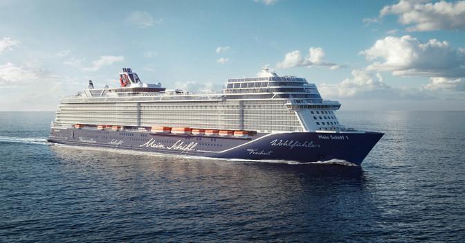 Mein Schiff Jungfernfahrt