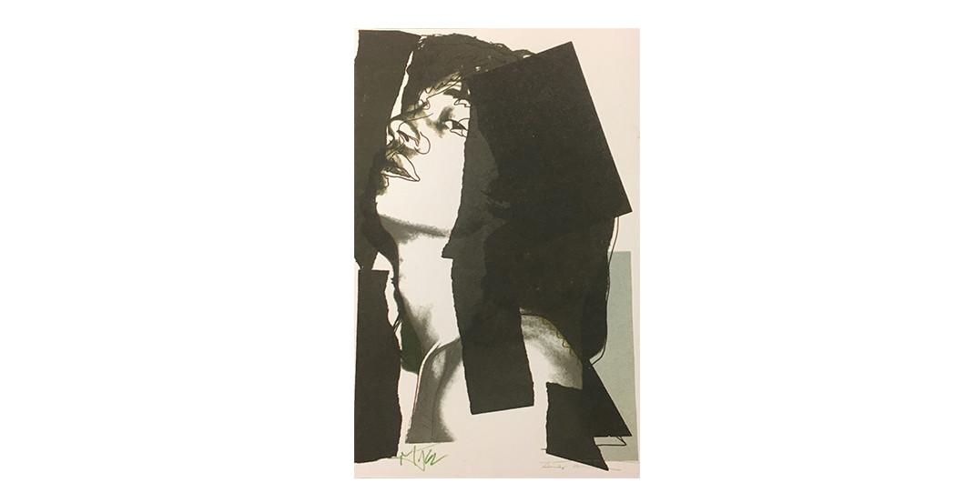 Mick Jagger Warhol