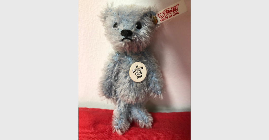 Mini Teddy hellblau