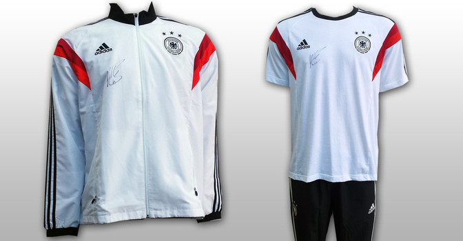 Miro Klose Anzug & Shirt