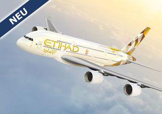 Mit Etihad nach Abu Dhabi