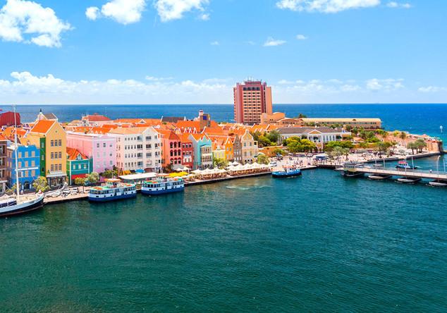 Mit KLM nach Curaçao