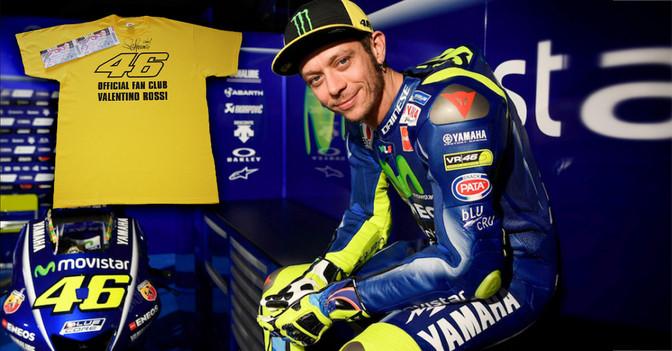 Moto GP und Rossi Shirt