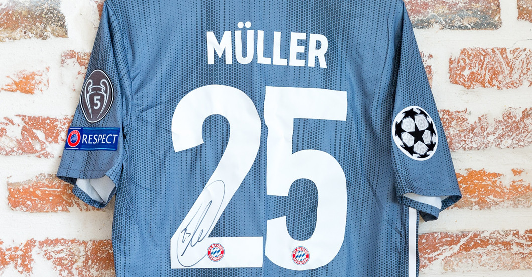 Müllers CL Trikot