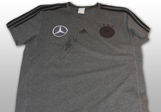 Neuers DFB Shirt grau
