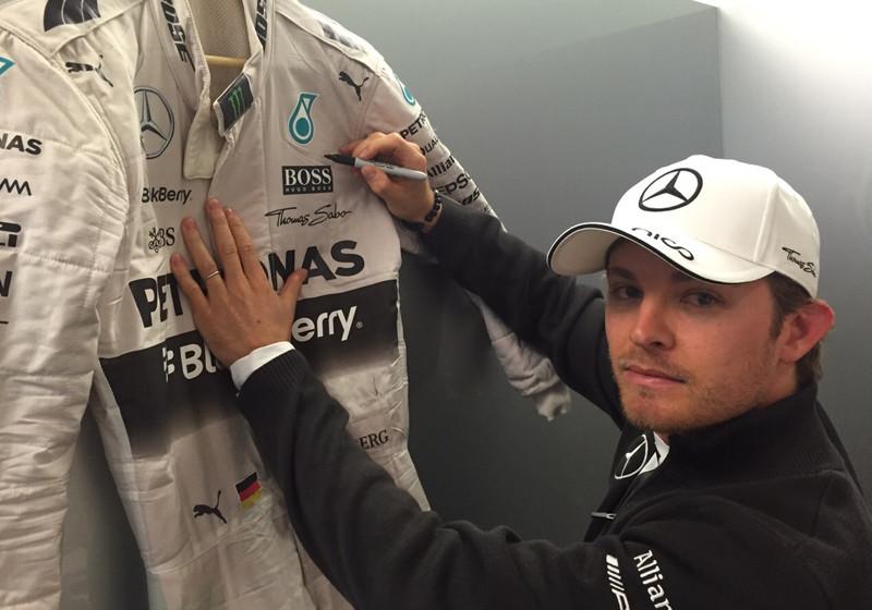 Nico Rosbergs Rennanzug