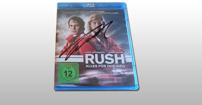 Niki Lauda Film signiert