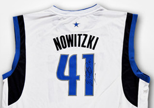 Nowitzkis NBA Trikot